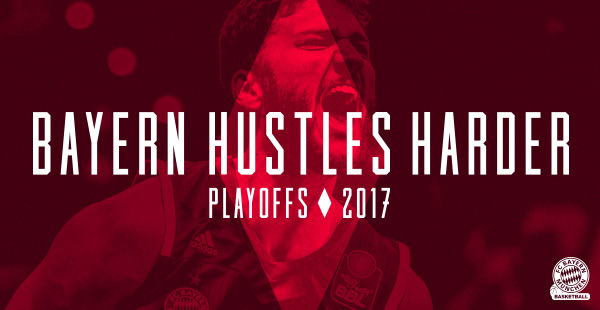 Bayern Hustles Harder! Der FC Bayern Basketball im Playoff-Modus